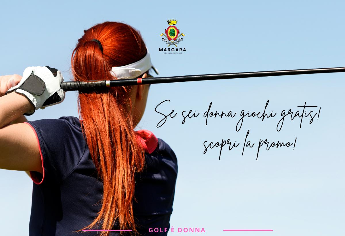 Promozione donna gratis golf