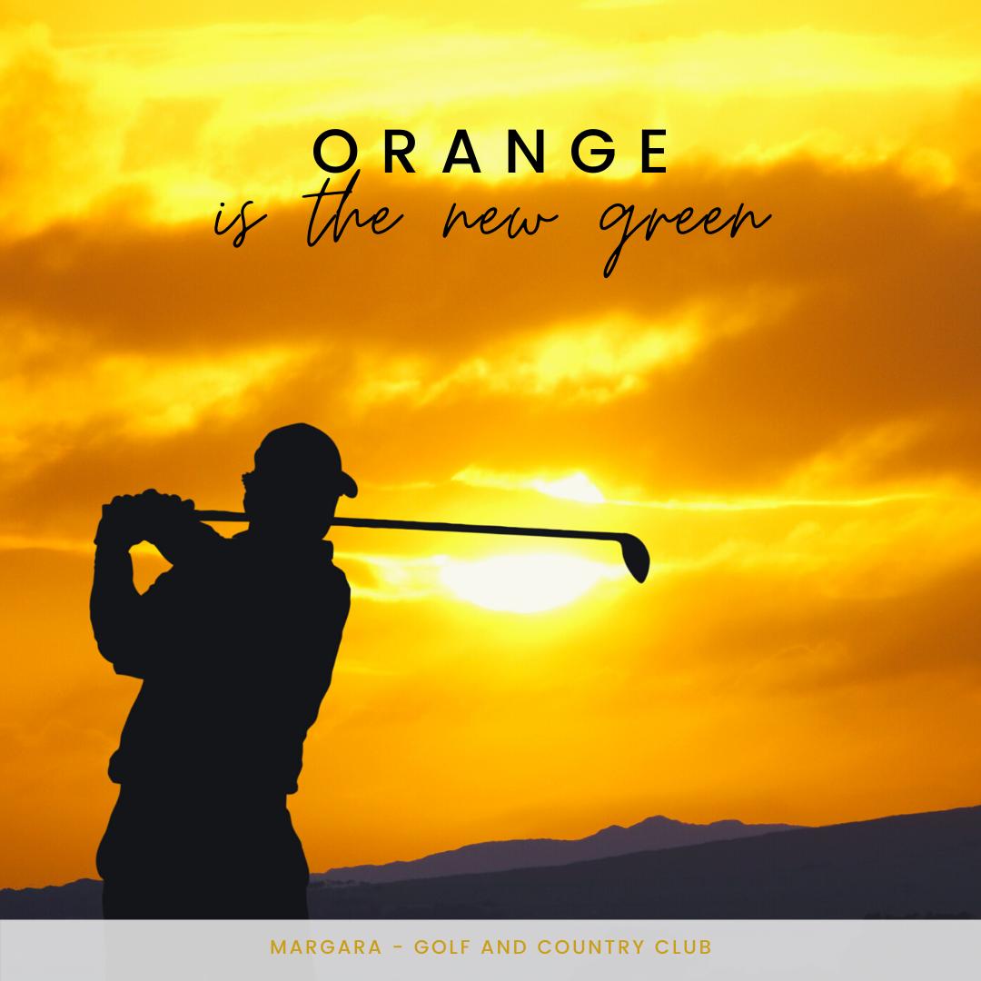 orange is the new green