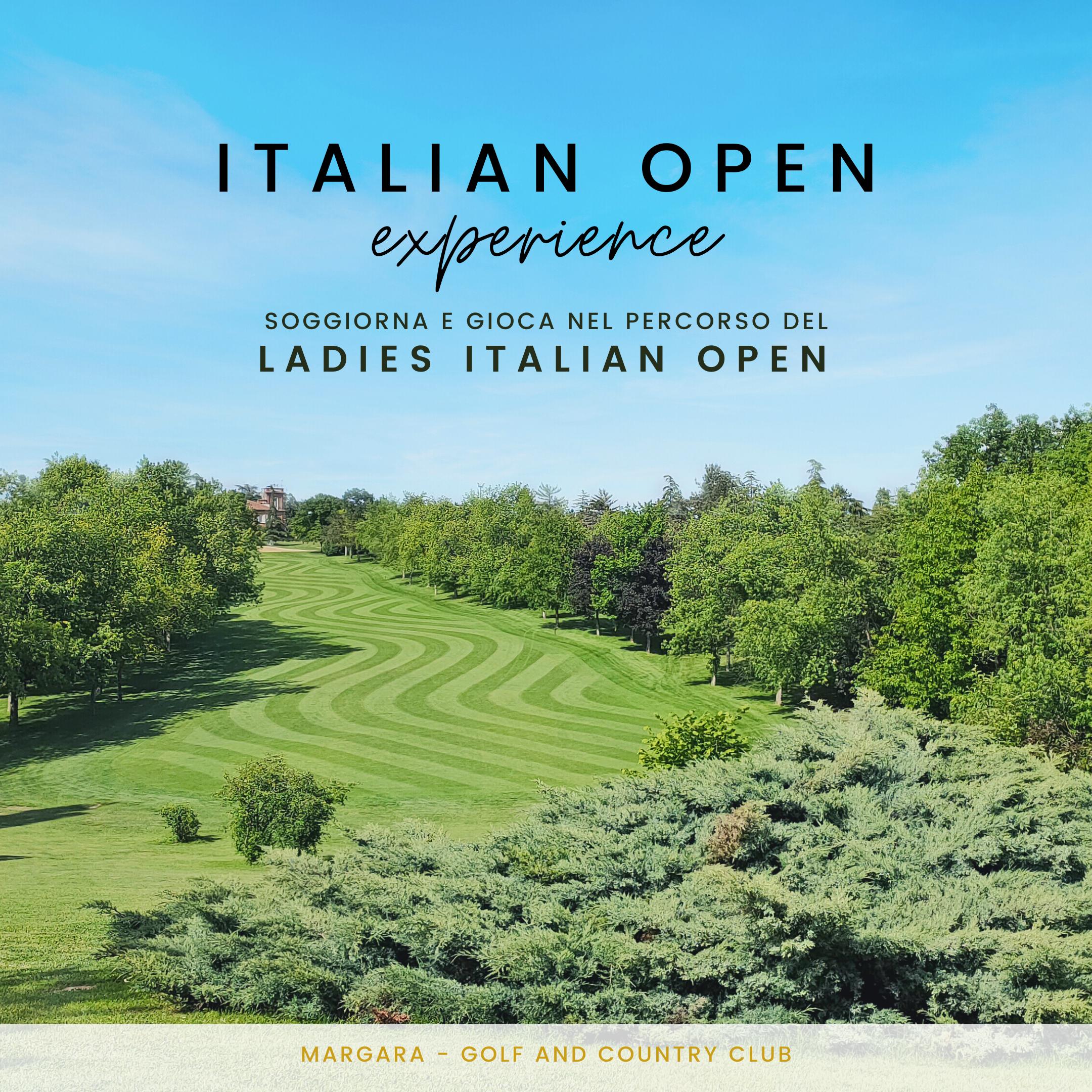 Italian Open Experience