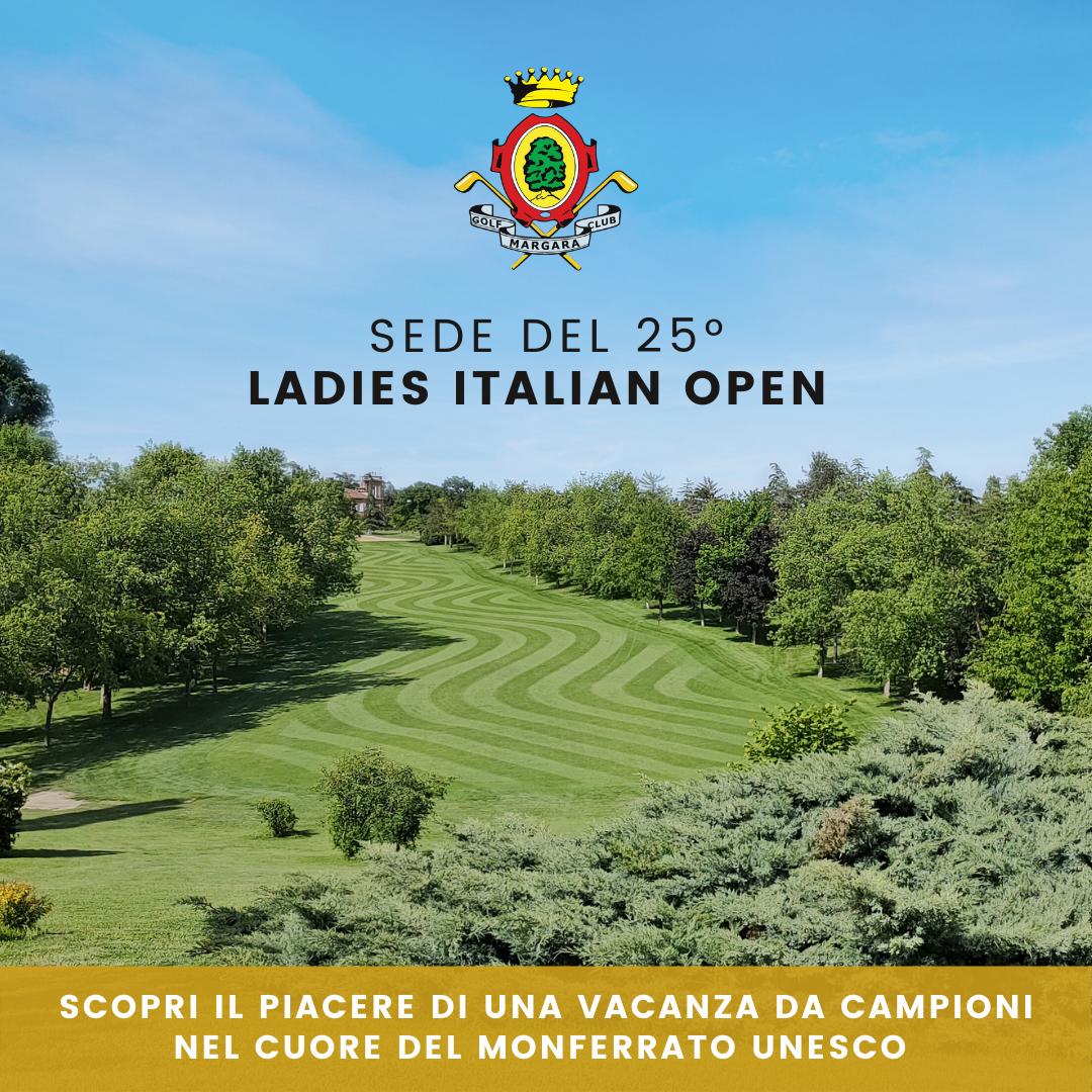 La tua Vacanza golf nel campo del 25° Ladies Italian Open