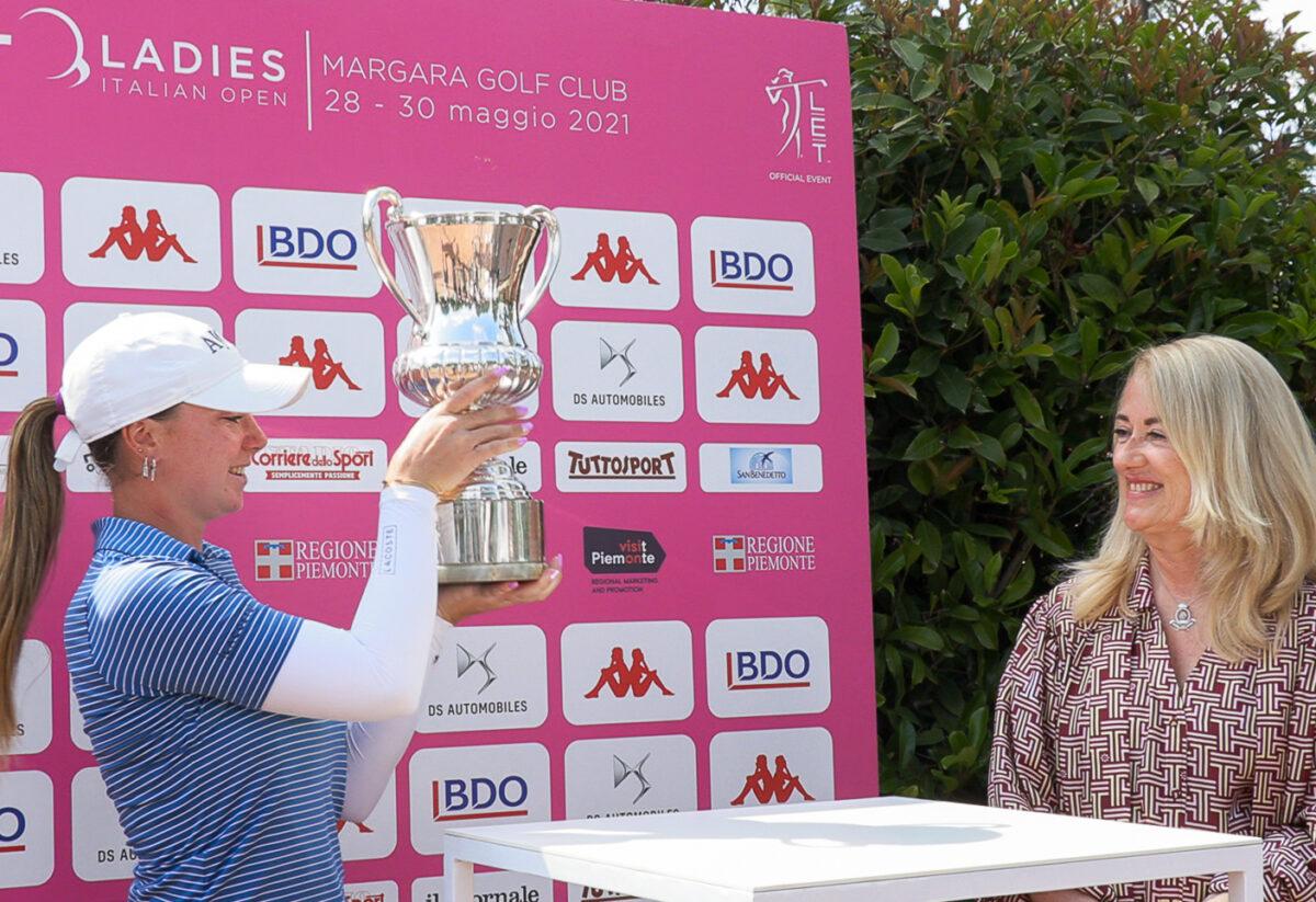 Lucie Malchrand vince il Ladies italian open