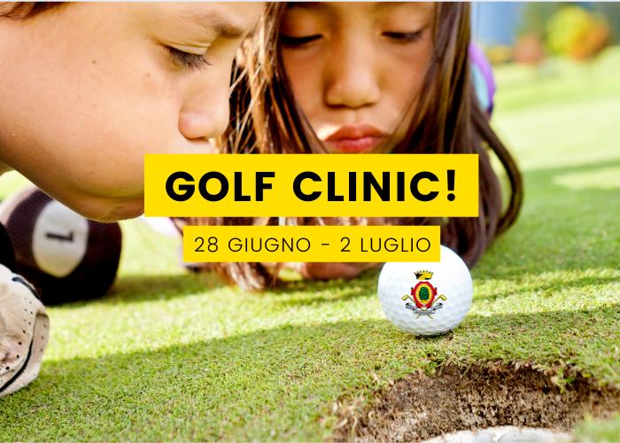 Junior Golf Clinc Margara