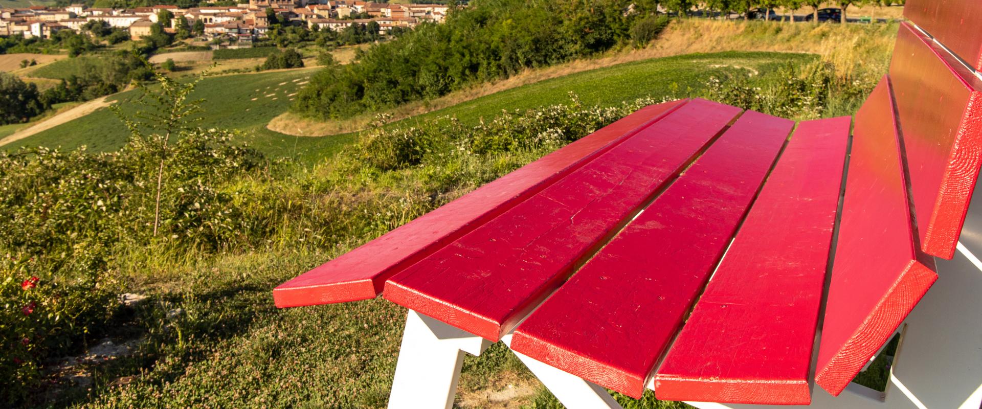 big bench Monferrato