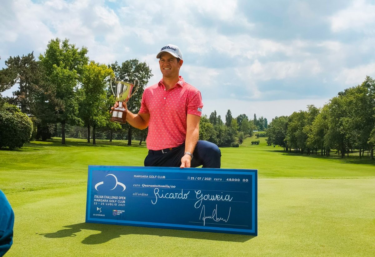 Ricardo Gouveia vince l'Italia Challenge Open a Margara