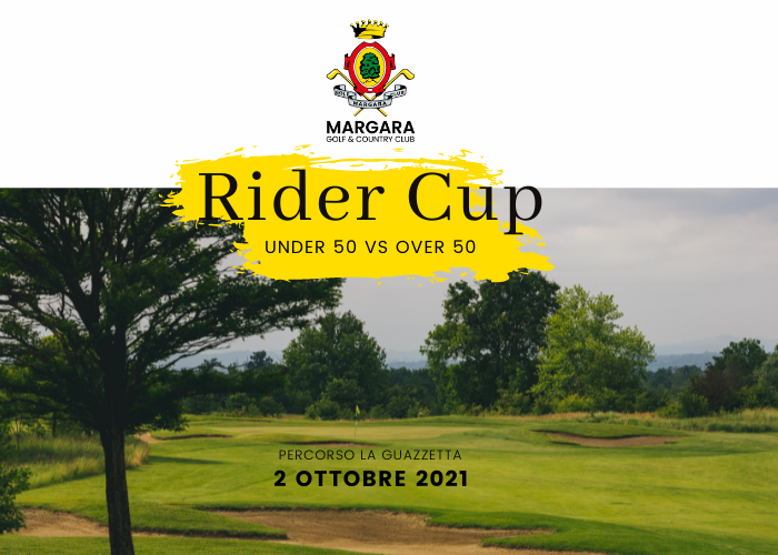 Rider Cup maschile 2021